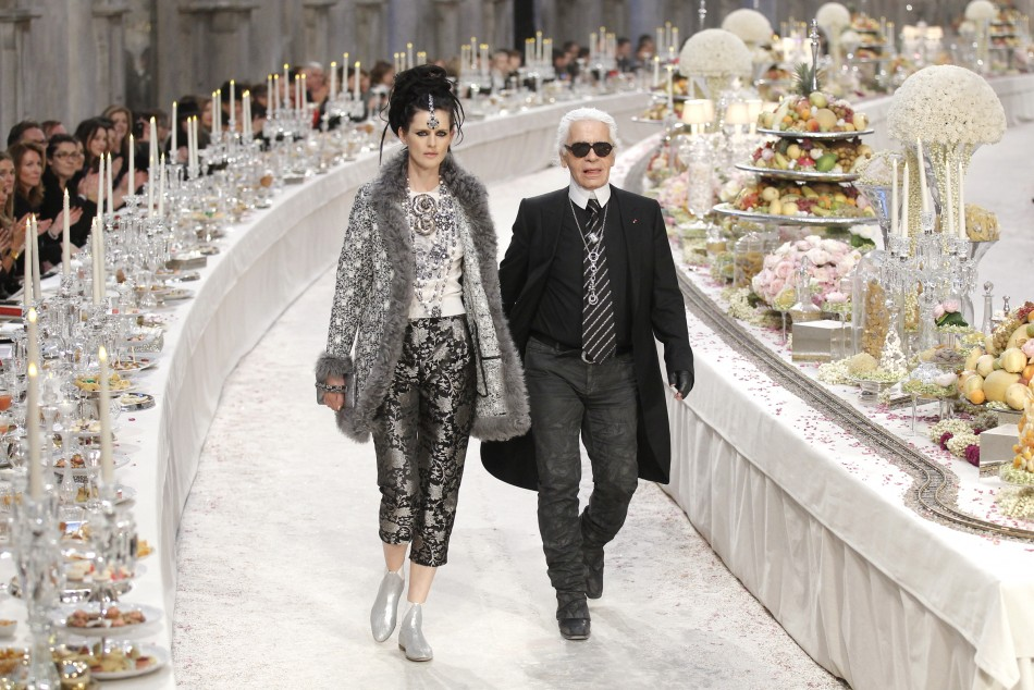 Image result for chanel karl lagerfeld shows